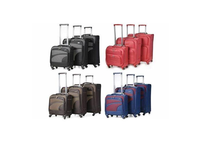 4 wheeler suitcases - 1