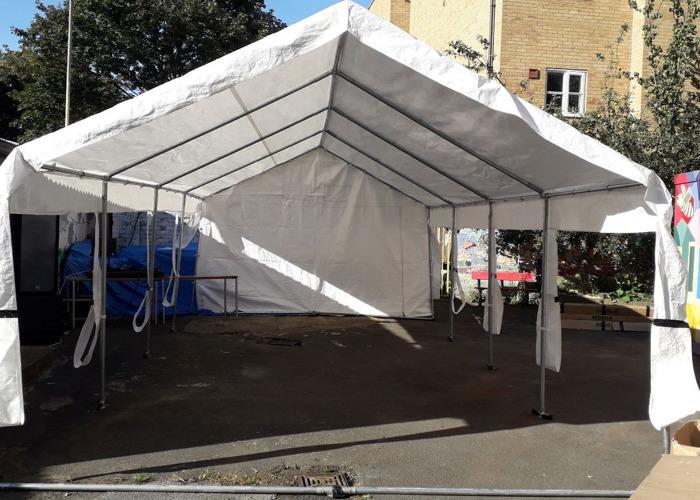4 X 8 waterproof Gazebo tent  - 1