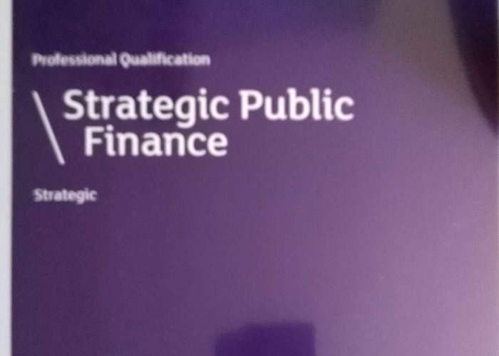 4 X CIPFA Finance Study Materials - 1