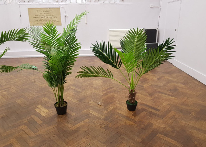 4 x Palm Tree Plants for Decorations - 2