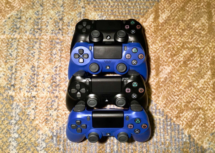 4 x PS4 Controllers (Quad Pack) - 2