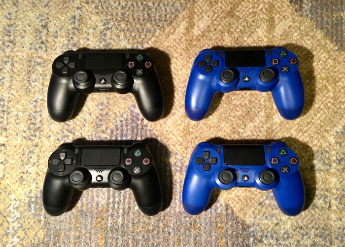 4 x PS4 Controllers (Quad Pack) - 1