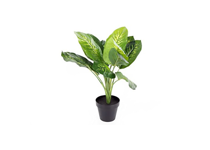 45CM ARTIFICIAL INDOOR PLANT IN POT HOME OFFICE RESTAURANT DECORATION - 1