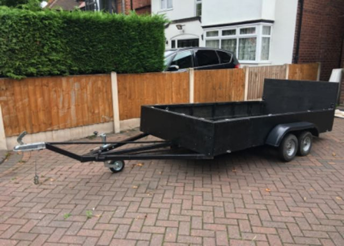 4.6FT x 10FT Twin Axle Trailer  - 1