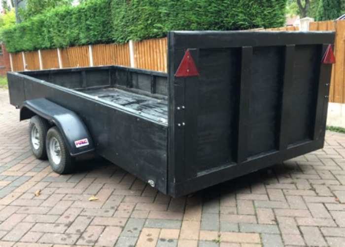 4.6FT x 10FT Twin Axle Trailer  - 2
