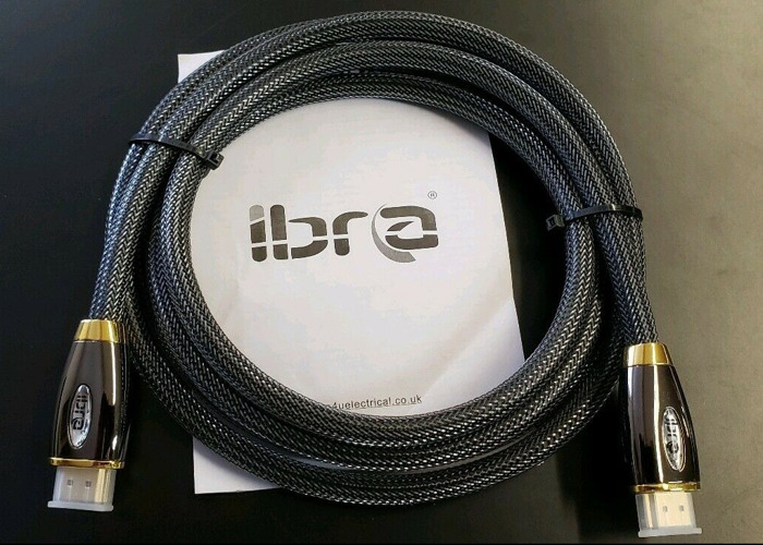 5m 4K HDMI Gold Cable Lead-Ultra High-Speed 18Gbps 2.0b  - 1