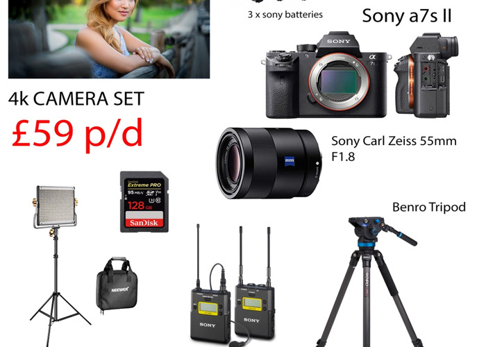 4k package-sony-a7sii-sony-radio-mic-carl-zeiss-50mm-lens--72196016.jpg