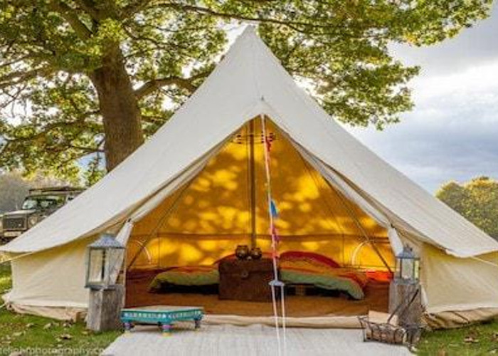 4m Bell Tent with delivery 2miles from n8 - 1
