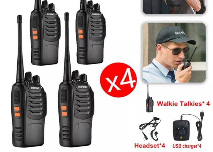 4x BaoFeng 888S Two Way Radios USB Walkie Talkies - 2