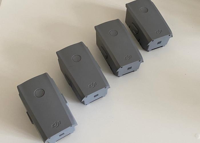 4x DJI Mavic Air 2 Batteries - Drone Battery - 1