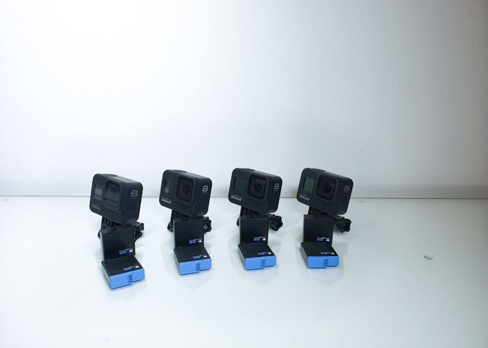 4x GoPro 8 black - 1