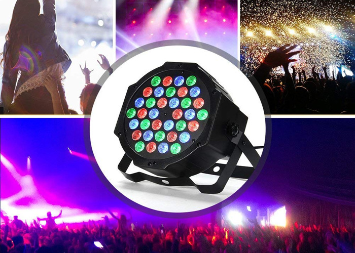 4x LED Party Strobe Lights with Remote Control - 2