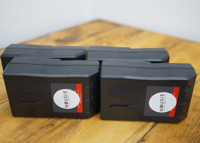 4x Swit 95Wh V-Lock Li-ion Battery with D-Tap - 1