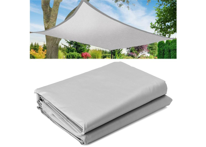 4x4/6/8M Sun Shade Sail Outdoor Garden Patio UV Proof Awning Canopy Waterproof Screen Cover - 1