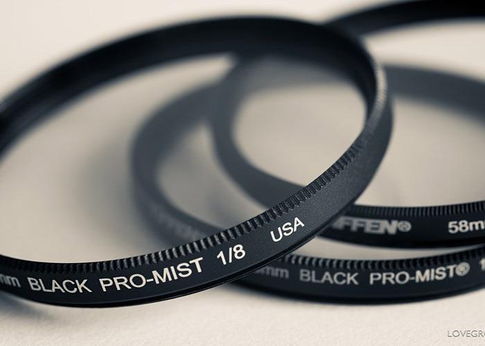 4X5.65 FILTERS- Black Pro Mist: 1/8 - 1