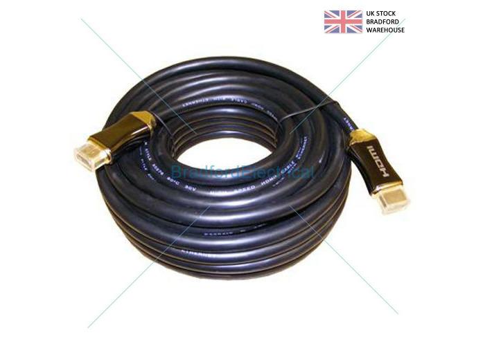 5 METRE 4K Ultra HD 2160p HDMI Cable ARC 3D Black 5m - 1