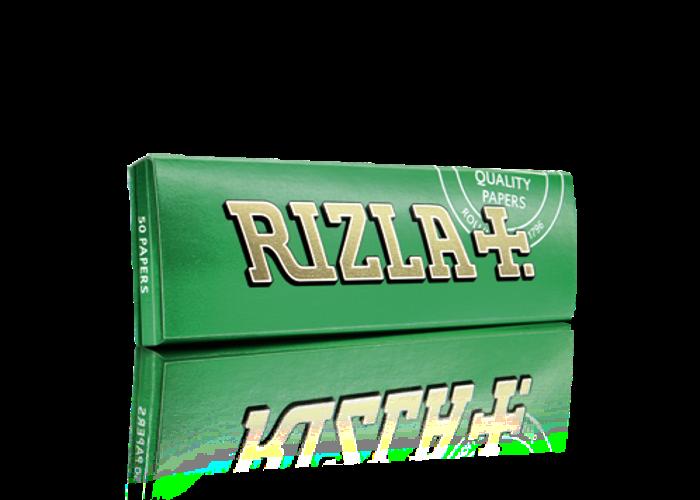 50 Rizla Green Regular Rolling papers - 1