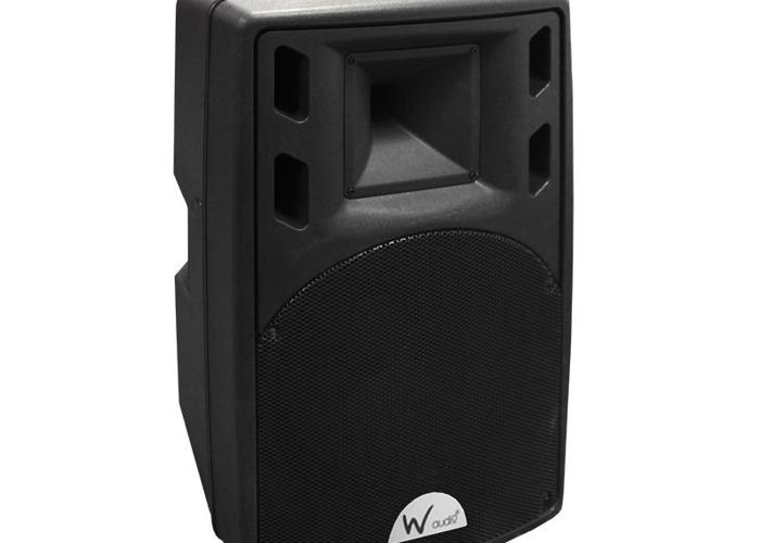 500w Powered disco speakers (pair)  - 1