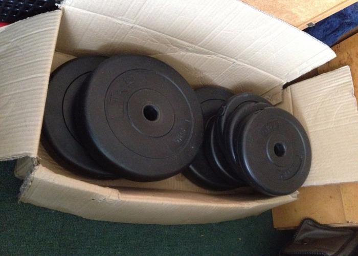 50kg Adjustable Dumbells - 2