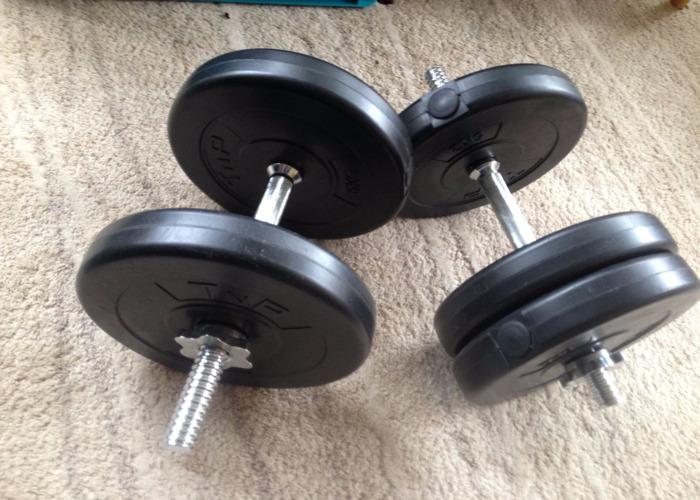 50kg Adjustable Dumbells - 1