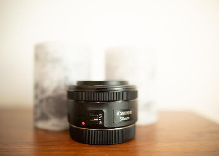 50mm Prime Lens F 1.8 EF MOUNT - 2