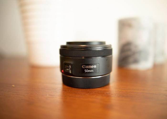 50mm Prime Lens F 1.8 EF MOUNT - 1