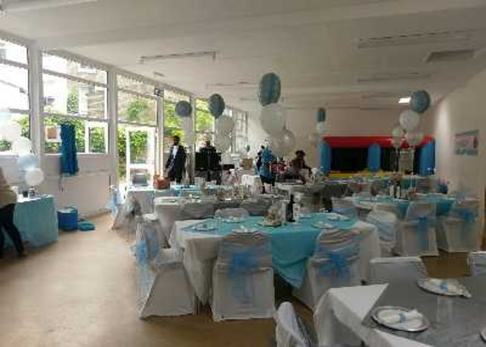 50p White Chair Cover Hire - 1