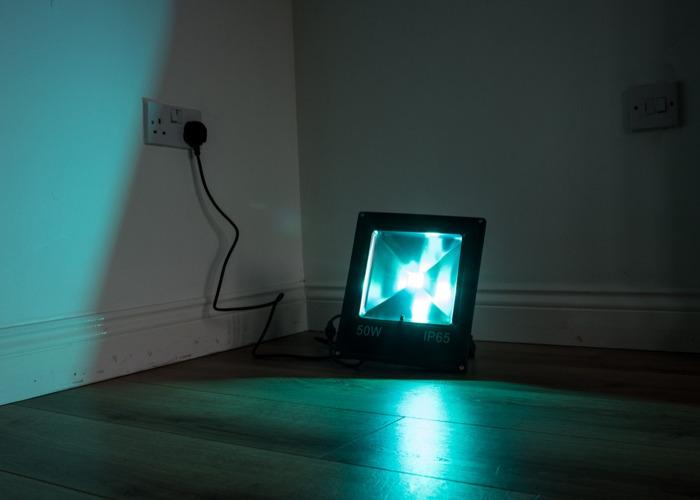 50W LED Floodlight (various colours) - 1