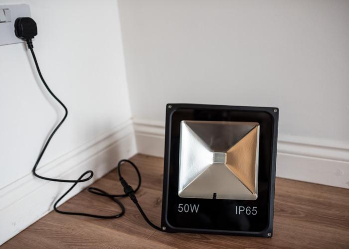 50W LED Floodlight (various colours) - 2