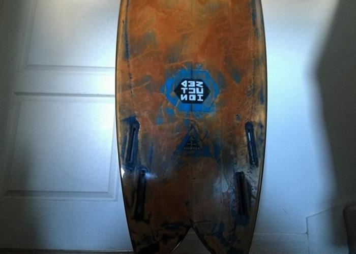 5'10 Seduction Fish Surfboard - 2