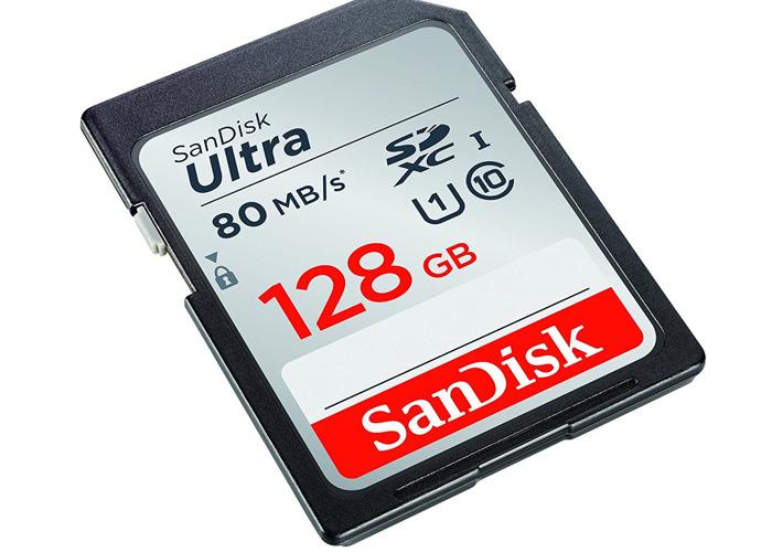 512 GB SD card (4x 128 GB) SanDisk Ultra Class 10 SD card - 2