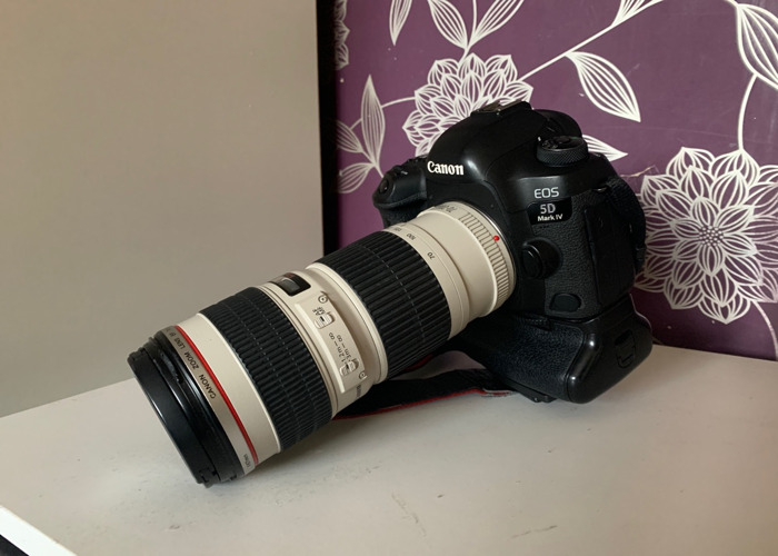 5d mark iv + 70-200 4L with Battery pack - 1