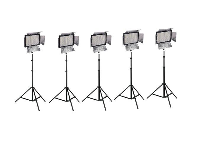 5x 900 LED light Panel YONGNUO YN900 Battery wifi - 1