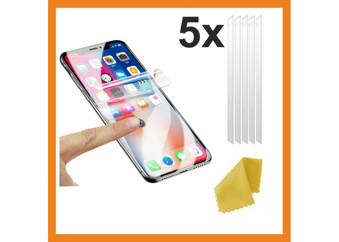 uk availability f3999 df90a Buy 5x Clear Plastic Screen Guard LCD Protector Film for iPhone ...