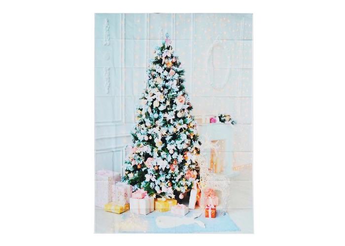 5x7ft Christmas Tree Gift Photography Backdrop Studio Prop Background - 2