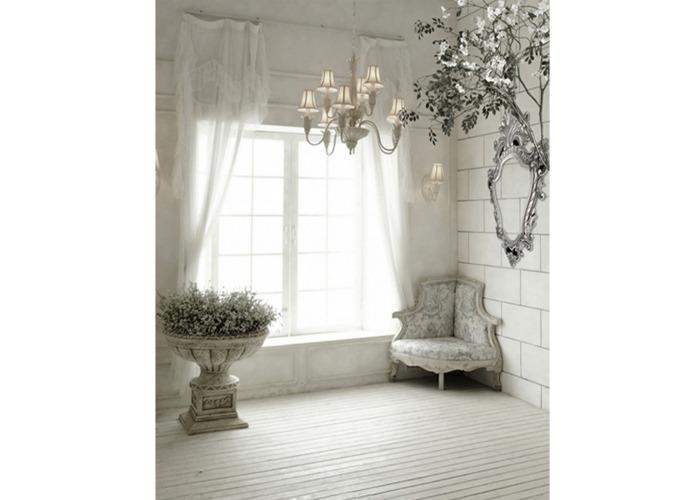 5x7FT Indoor Window Sofa Photography Background Backdrop Studio Prop - 1