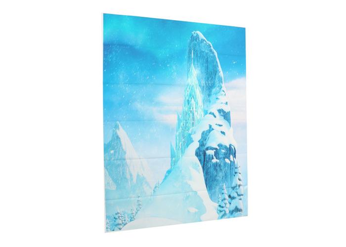 5x7FT Vinyl Glacier Blue Photography Backdrop Background Studio Prop - 1