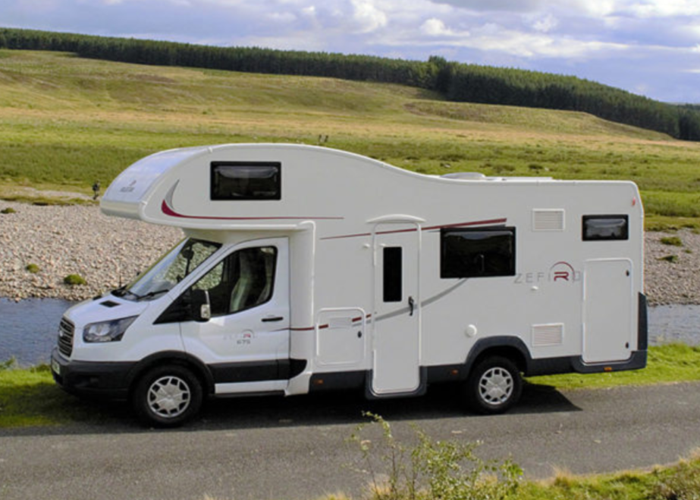6 berth Zefiro 675 Ford  with Bunkbeds - 1
