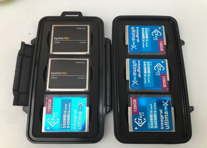 6 x CFast 2.0 Memory Cards - 1