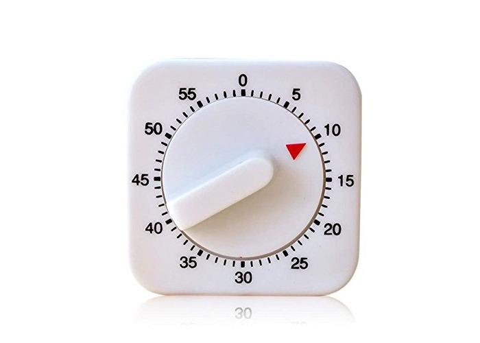 Kitchen Cooking Baking Workout  Mechanical Timer Racing Alarm Clock