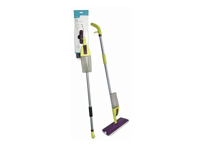600ml SPRAY MOP WATER SPRAYING FLOOR CLEANER HOME KITCHEN TILES MARBLE MICROFIBRE CLEANER - 1