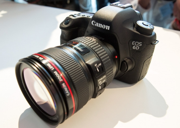 Canon 6D EOS with Lens, Battery, SD - 1