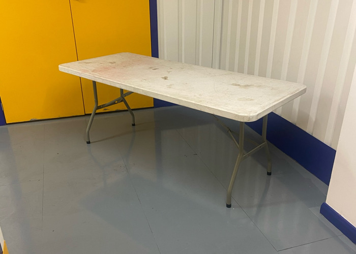 6ft folding table  x 4  - 2