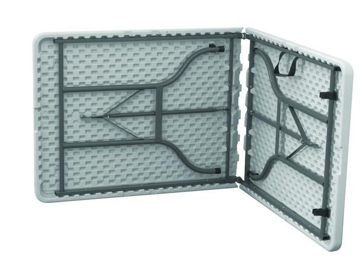 6FT Plastic Folding Trestle Table - 2