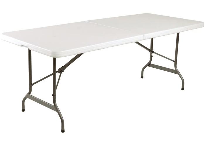 6ft White Bolero Table - 1