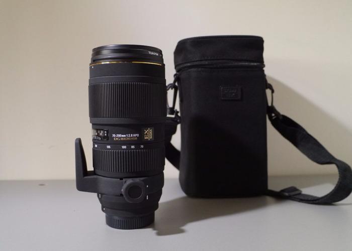 70-200 2.8 Sigma Lens Nikon Fit - 1