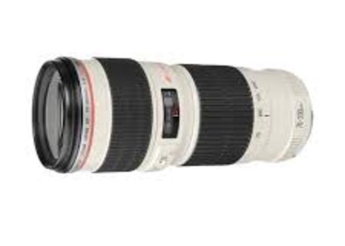 70-200 mm f4 canon lens - 1