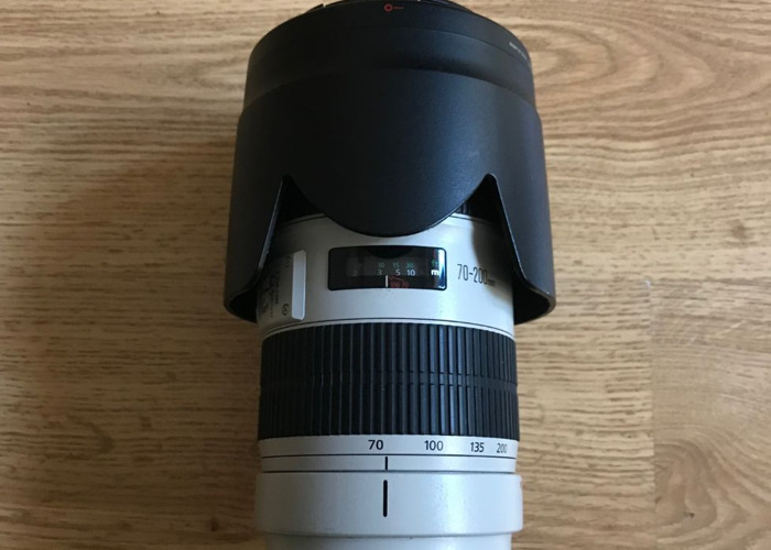 70-200mm Canon L Series Lens F2.8 mark 2 - 1