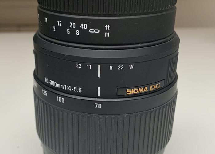 70-300mm F4-5.6 DG MACRO - 2