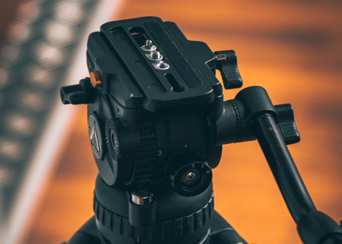 7063H Fluid Video Head for Mirrorless and Panasonic GH4, A7  - 1
